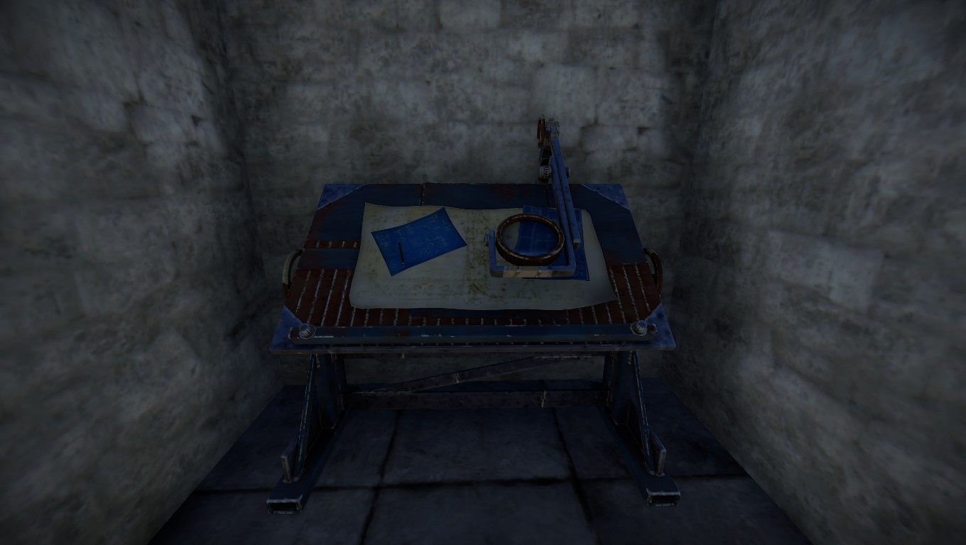 Rust Research Table