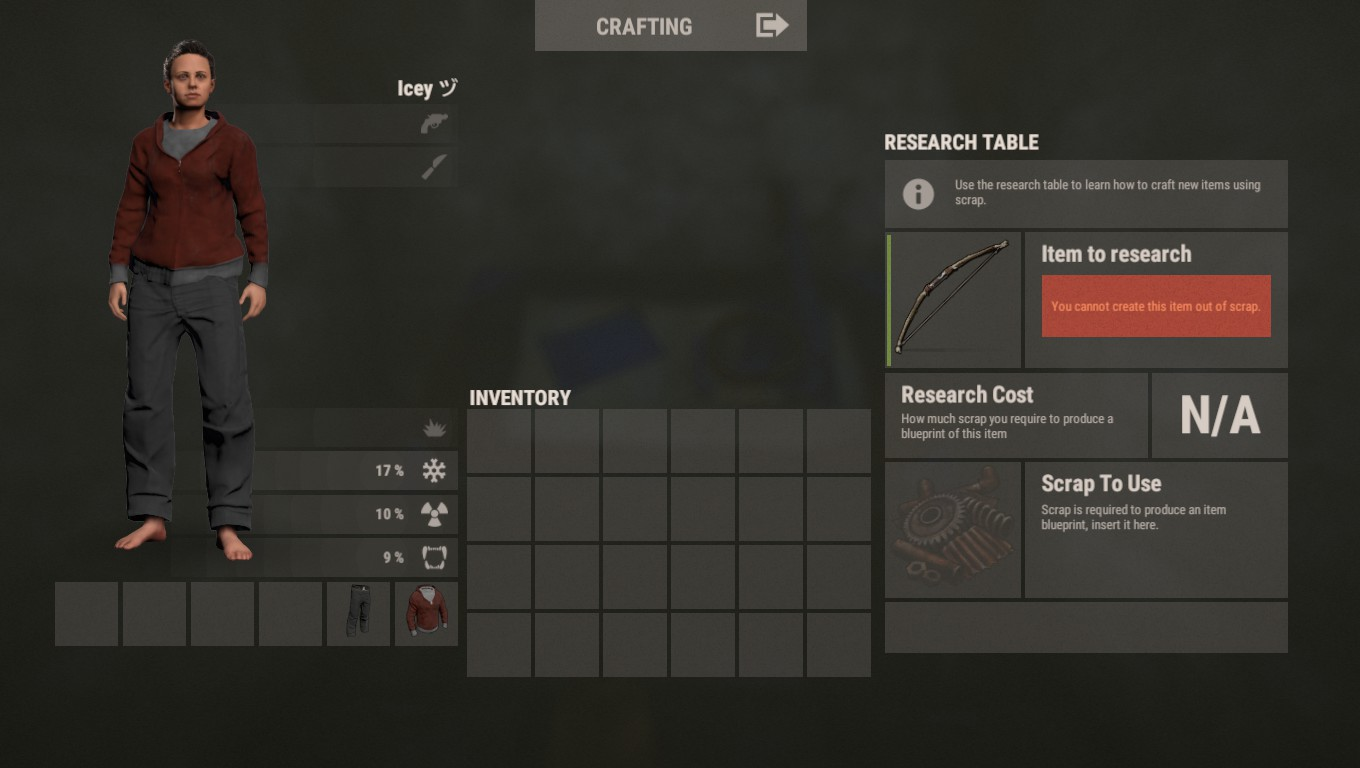 Rust Bow Research